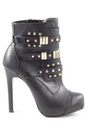 Starlet High Heel Stiefel schwarz Casual-Look