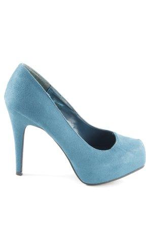 Starlet High Heels blau Business-Look