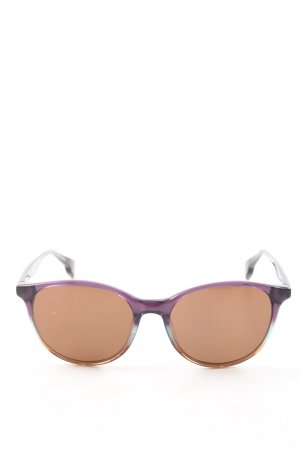 State Optical co. Panto Brille creme-lila Elegant