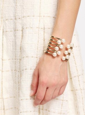 River Island Brazalete color oro