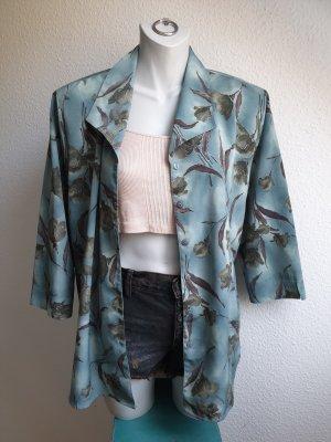 Statement Blazer / Blusenjacke mit Schulterpolstern, 80s / 90s Vintage Look