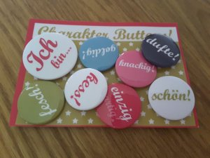 Button multicolored