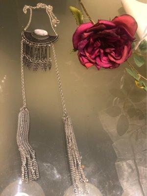 Bijou Brigitte Collier Necklace silver-colored-white