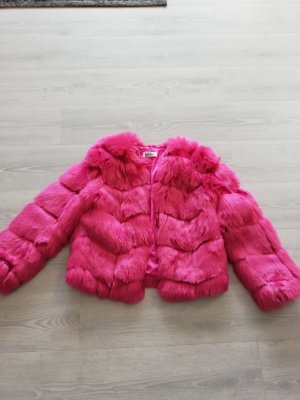 "Statement Fake Fur Jacke in Pink von"" jakke""   NP 199 €"