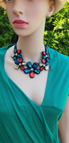 -8- Venice Collier multicolore