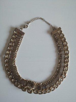 H&M Collier incrusté de pierres doré