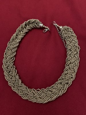 Accessorize Statement ketting nude