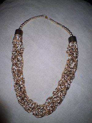 Statement Kette mit Perlen
