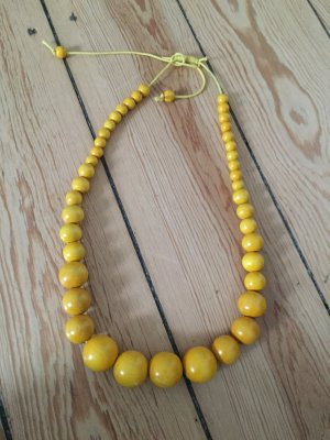 """Statement Kette """"Tropical Yellow"""""""