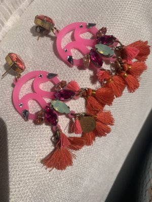 Statement Earrings pink-pink