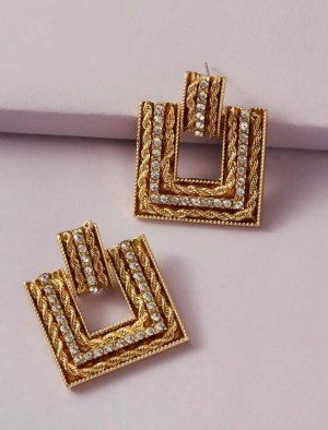 Next Statement Earrings gold-colored