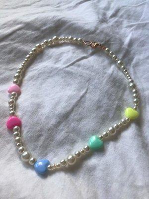 Schmuck Collar de perlas multicolor