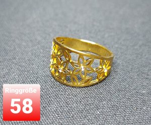 SmD Statement Ring gold-colored