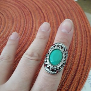 Statement Ring aus Italien,  Gr. 16