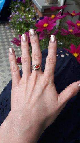 Statement Ring Carneol Größe 56