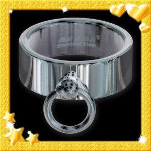Statement ring zilver Metaal