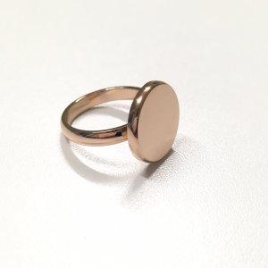 Statement Ring Roségold glänzend