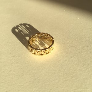 Gold Ring gold-colored