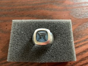 Statement Ring Silber Aquamarin v Thomas Sabo