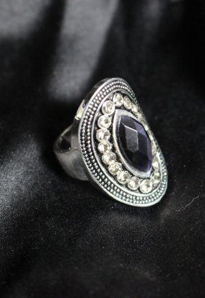 Statement Ring silbern