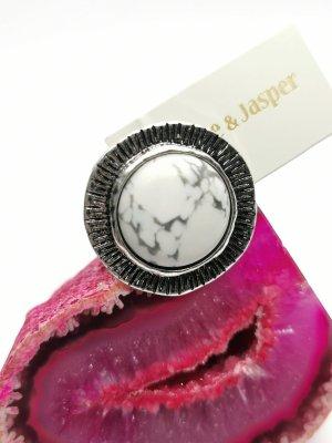 Statement Ring von Jade und Jasper (Größenverstellbar), Neu!