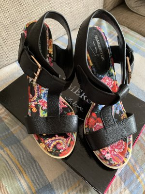 Hammerstein High Heel Sandal multicolored leather