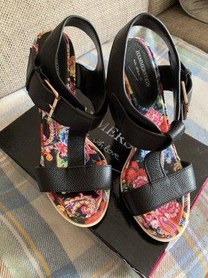 Hammerstein Hoge hakken sandalen veelkleurig Leer