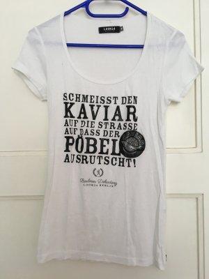 Look 54 Print Shirt white-black