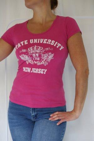 Statement-Shirt im University Style