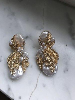 AB Design Pearl Earring multicolored