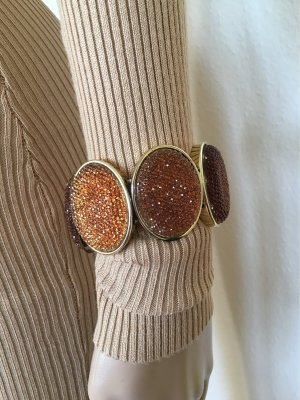H&M Armband goud-cognac
