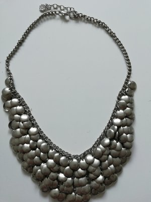 Six Statement Necklace silver-colored