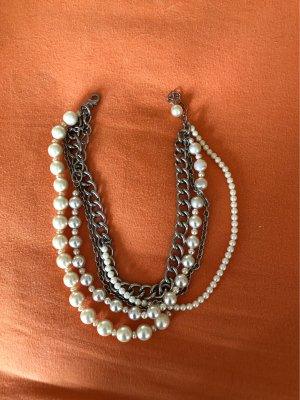 Gabriele Frantzen Statement Necklace silver-colored-white