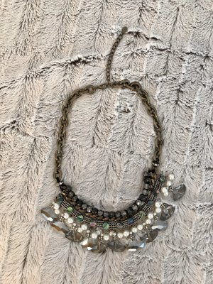 Zara Accesoires Statement Necklace multicolored