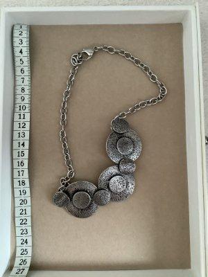 Statement Necklace light grey