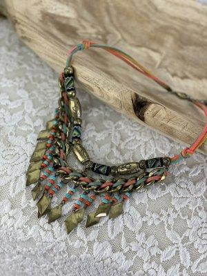 keine Marke Statement Necklace multicolored