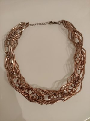 Statement Necklace rose-gold-coloured