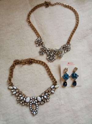Happiness Boutique Statement Necklace multicolored