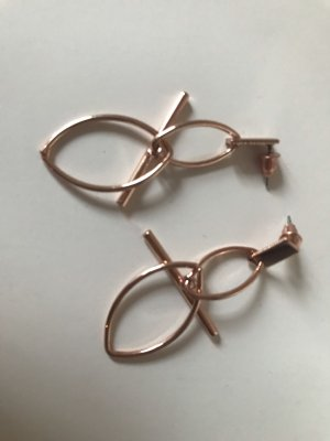 Statement Earrings bronze-colored