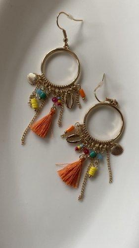 accessories Boucle d'oreille incrustée de pierres multicolore