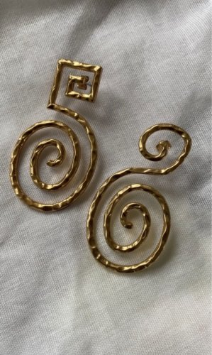 H&M Statement Earrings gold-colored