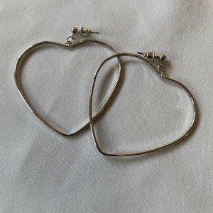 Accessoires Zdobione kolczyki srebrny