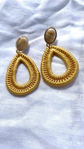 Accessoires Orecchino dichiarazione giallo-oro-oro