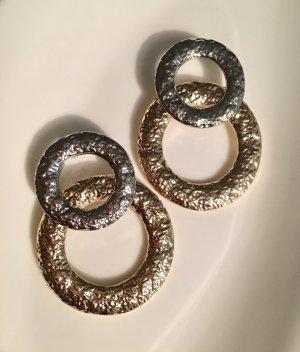 Zalando Statement oorbellen goud-zilver