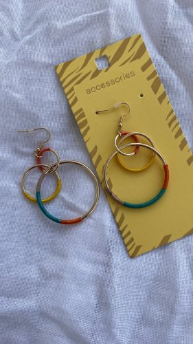 Accessoires Orecchino dichiarazione multicolore