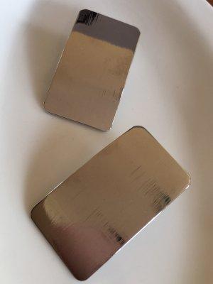 H&M Boucle d'oreille incrustée de pierres argenté