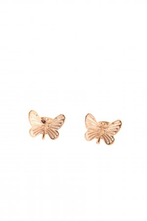 Statement Earrings gold-colored casual look