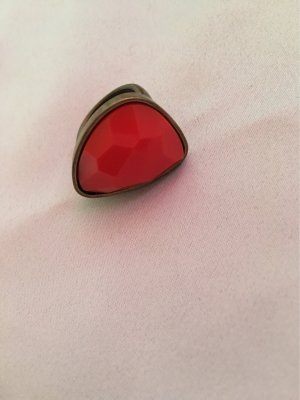 H&M Statement ring neonoranje-brons