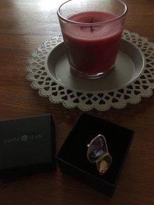 Pippa & Jean Złoty pierścionek Wielokolorowy