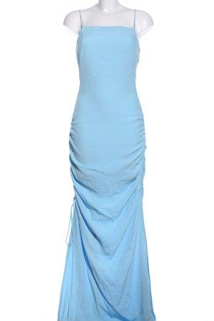 Staud Maxikleid blau Elegant